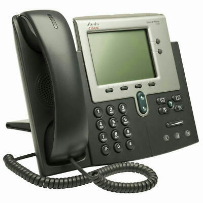 CISCO CP-7942G 7942G Unified IP VoIP Corded Phone W/ Handset