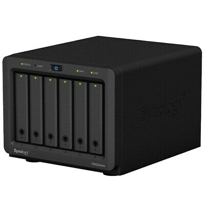Synology DiskStation DS620slim 6-Bay Diskless NAS Dual-Core CPU 2GB RAM