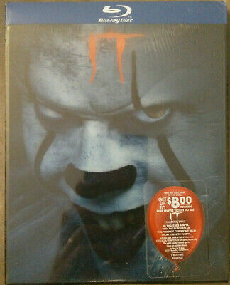 IT (2017, Blu-ray, Canadian, Lenticular Slipcover)