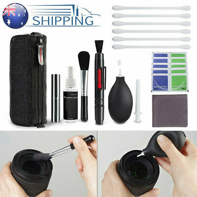 10 in1 Professional DSLR Lens Camera Cleaning Kit for Nikon Canon Sony Panasonic