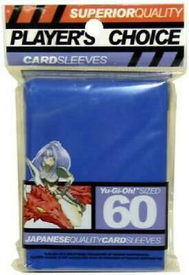 Player's Choice Blue Yugioh Sized-Mini 60 ct Sleeves (Player's Choice) New R0V