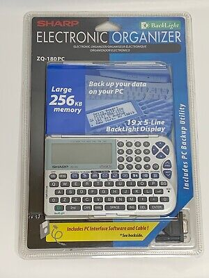 Sharp Electronic Organizer ZQ-180PC Brand new!