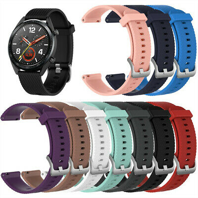 Comfort Silicone Sports Replacement Watch Band Wrist Strap For Huawei Watch GT