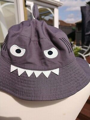 Joules Shark Hat attack Character Sun Hat, Age M-L, New, Boys/ Girls