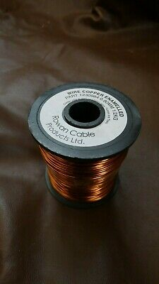 Rowan Cables 0.8mm Copper Enamelled Wire 500g Roll Solderable
