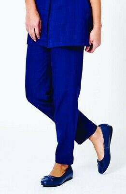 La Beeby Macy Trousers Light Navy Size UK 12 Brand New with Tags