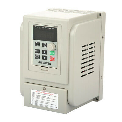 Single Phase To 3 Phase Variable Frequency Drive Inverter 2.2Kw 220Vac 12A Vfd