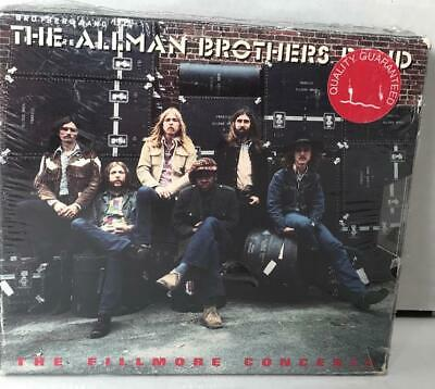 The Allman Brothers Band The Fillmore Concerts (CD, Oct-1992, 2 Discs) New