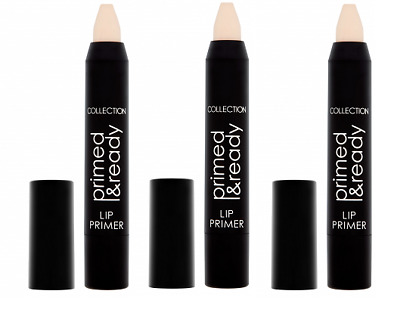 3 x Collection Primed & Ready Lip Primer | Neutral 1 | Brand New