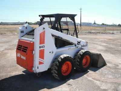 Array - bobcat 843 843b skid steer loader service manual shop repair      rh   picclick com