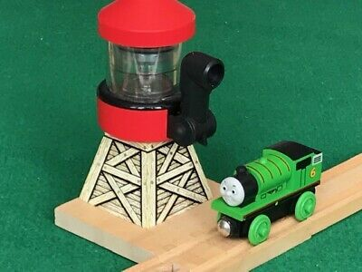 THOMAS  /& FRIENDS WOODEN RAILWAY TOBY/'S WINDMILL /& FLOUR FOR BRIO TRAIN SETS