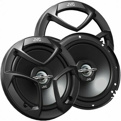 """New Pair JVC CS-J620 6.5"""" 2-Way Coaxial Speakers to Replace Factory 300 Watts ea"""