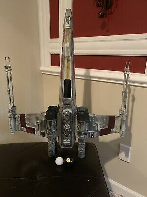 1 XL -Very Large X-Wing For Sale 100% For charity - Star Wars Prop