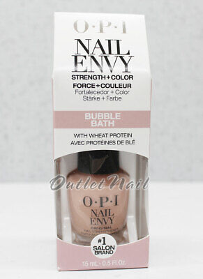 OPI Lacquer NAIL ENVY Treatment STRENGTH+COLOR w/ Wheat Protein & Calcium