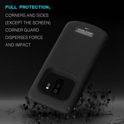 8000mAh For Samsung Galaxy S7 / S8 / S9 External Battery Charger Charging Case
