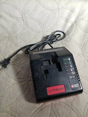 PORTER CABLE Lithium PCLMVC TYPE 1 BATTERY CHARGER 10.8V-18V LI-ION CHARGER