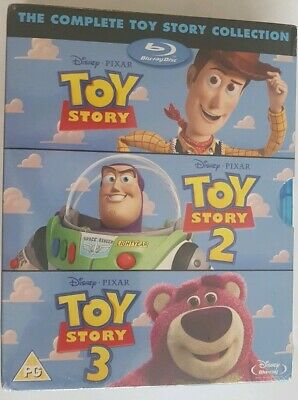 Toy Story Trilogy Boxset Disney Collection Blu-ray Brand New