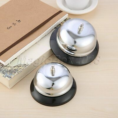 1Pc Desk Kitchen Hotel Counter Reception Restaurant Bar Ringer Call Bell Service