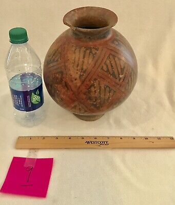 8) PRE COLUMBIAN NARINO Water VASE VESSEL SOUTH AMERICA Columbia Pottery Clay