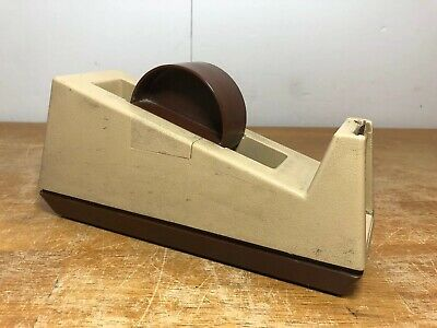 """Scotch C-25  Weighted Tape Dispenser 3"""" Core 3M Model 28000 For 1"""" Wide Tape"""