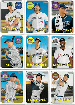 2018 Topps Heritage High Number Short Print Singles***You Pick***