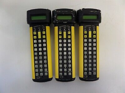 Lot of 3 Videx LaserLite Pro Portable Data Scanner AS IS