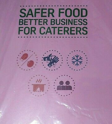Safer Food Better Business Caterers Pack 2019 + 12 Month Diary Full Pack + sign