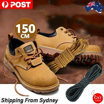 150cm Timberland Hiking Trekking Shoe Work Boot Laces Trek Hike Yellow Brown Bla