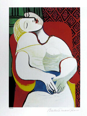 Pablo Picasso RECLINING NUDE Limited Edition Giclee Estate Signed 20x13
