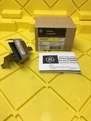 General Electric GE THAUX61S Auxiliary Switch Contact Kit, New