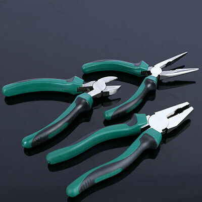 Diagonal Cutting Pliers Wire Side Cutter Nippers Contractor Grade Clippers Tool
