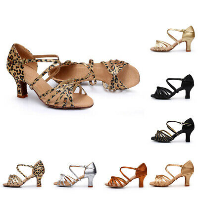 Casual Shoes Sandals Stilettos Holiday Women Ballroom Latin Heeled 1*Pair