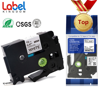 Compatible for Brother P-Touch Laminated Tze Tz 231 121 221 241 631 Label Tape.
