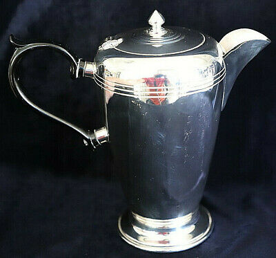 High quality crusader plate epns a1 silverplate bakelite handle coffee pot