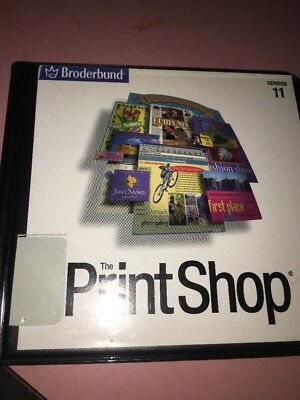 The Print Shop Art Cd 1-5 Brøderbund