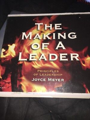 The Making Of a Leader Audio Casete Joyce Meyer