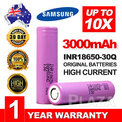 For Samsung Genuine Rechargeable Lithium Battery 3000mAh 30Q Li-ion Batteries