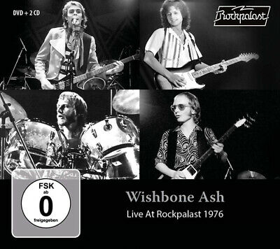 Wishbone Ash : Live at Rockpalast 1976 CD Album with DVD 3 discs (2019)