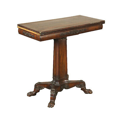 Game Table with Inlays Rosewood Italy 19th Century