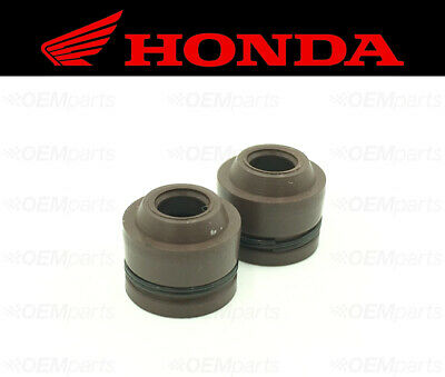 Set of (2) Intake & Exhaust Valve Stem Seals Honda (See Fitment Chart)