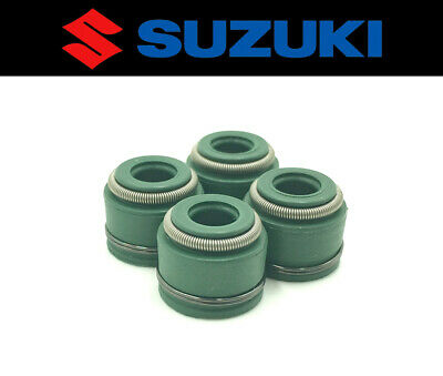 Set of (4) Intake & Exhaust Valve Stem Seals Suzuki AN400 Burgman 2003-2006