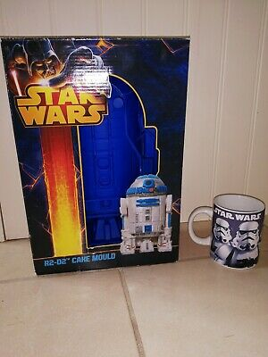 Star Wars R2-D2 Cake or Jelly MOULD. Only one in the UK! Silicone. Very Rare!