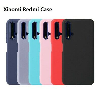 For Xiaomi Redmi Note 8 7 6 Pro 7A Mi 9T A3 A2 Lite Silicone Soft TPU Back Case