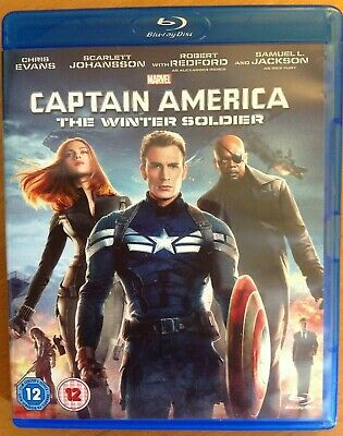 CAPTAIN AMERICA - THE WINTER SOLDIER (Blu-ray) + Trading Cards. Marvel Studios