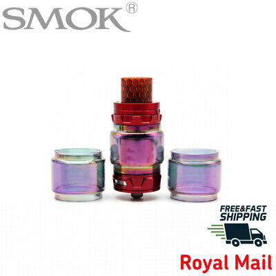 SMOK TFV12 Prince RAINBOW Bubble Bulb FatBoy  Extended Pyrex Glass | IN STOCK