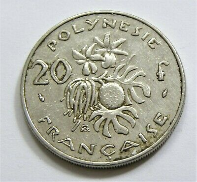 20 Francs French Polynesia 1983 #7017