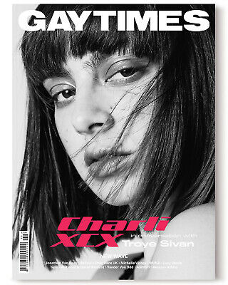 Gay Times #499 2019 - Charlie Xcx (Alternative Cover Available)