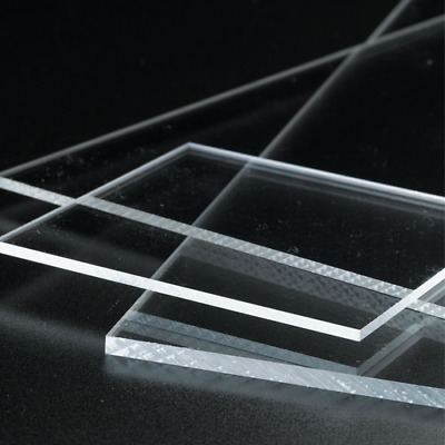 Clear Acrylic Perspex Sheet Cut To Size Panels Plastic Panel Premium Quality