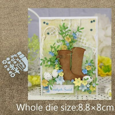 New Design Craft Metal Cutting Dies Cut Die Flower Shoes Boots Decoration Scrap
