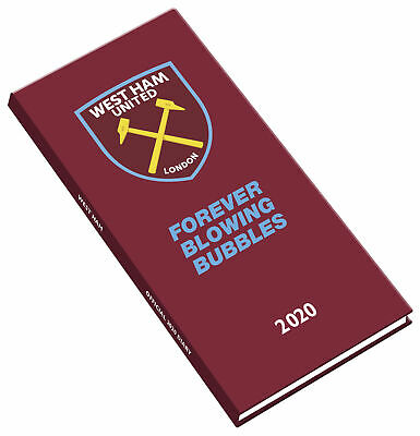 The Official West Ham United FC Pocket Diary 2020 NEW